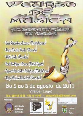 V Curso de Música A.C. Banda de Música de Vilalba